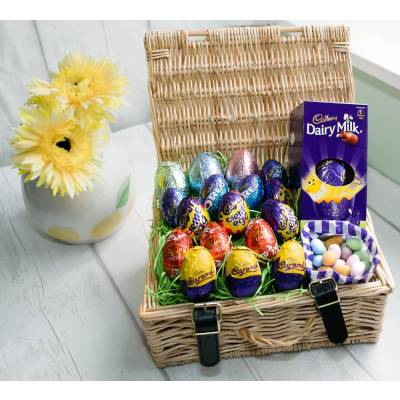 Click to view product details and reviews for The Mega Egg Easter Hamper.
