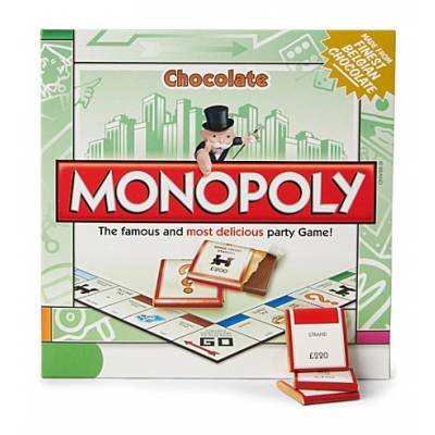 Mini Chocolate Monopoly