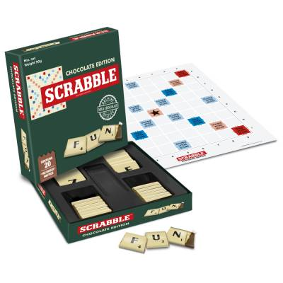 Mini Chocolate Scrabble