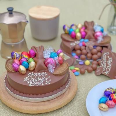 Mini Easter Smash Cake