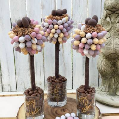 Personalised Mini Egg Nest Tree