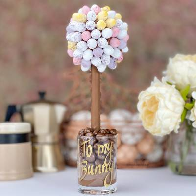 Mini Eggs Chocolate Tree 25cm
