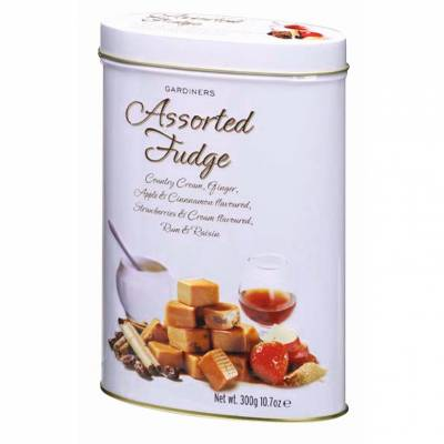 Assorted Luxury Fudge Tin