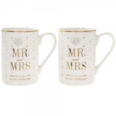Mr and Mrs Wedding Mugs