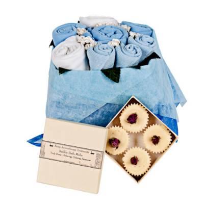 Mummy and Me Blue Gift Set