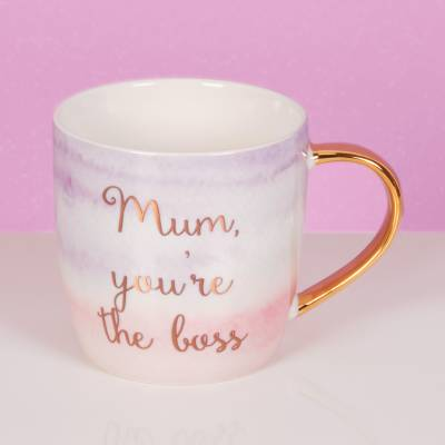 Mum You're The Boss Mug