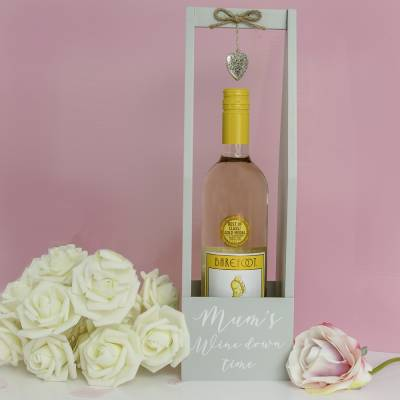 Mums Wine Down Time White Wine Gift