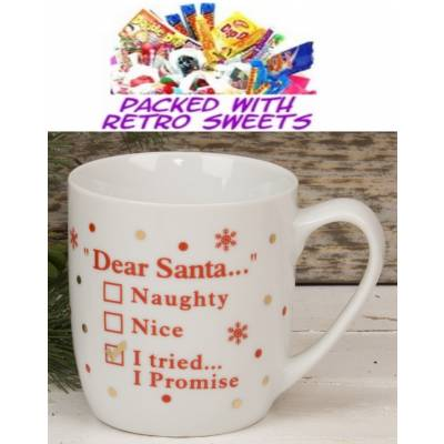 Naughty or Nice Cuppa Sweets - Sweets Gifts