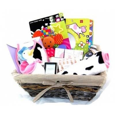Deluxe New Baby Girl Hamper - Baby Girl Gifts