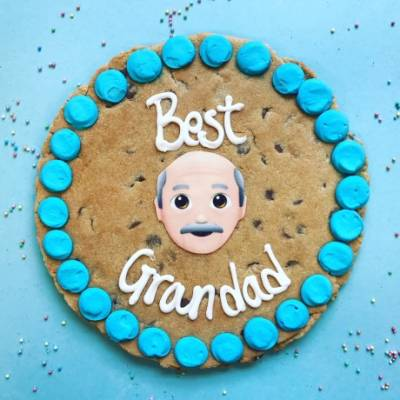 Personalised Giant Grandad Cookie