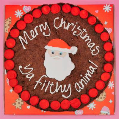 Personalised Santa Giant Cookie