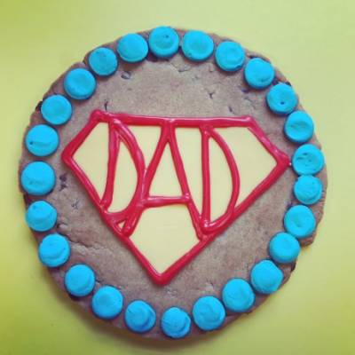 Super Dad Giant Cookie