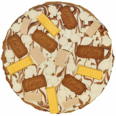 Fully Loaded Giant Biscoff Cookie
