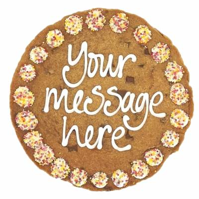 Personalised Giant Chocolate Cookie