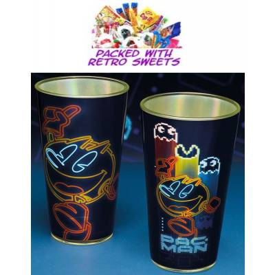 Pac Man Glass Cuppa Sweets - Sweets Gifts
