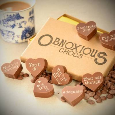 Obnoxious Chocs For Your Partner