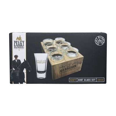 Peaky Blinders Shot Glasses Gift Set