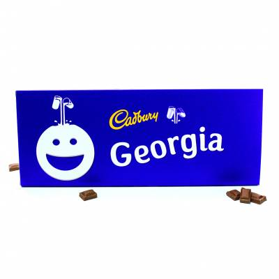 Personalised Giant 850g Cadbury Dairy Milk Bar