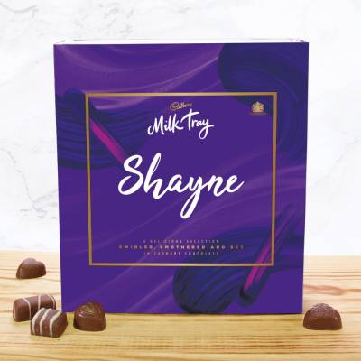 Personalised Cadbury Milk Tray 360g