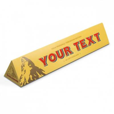 Personalised Toblerone Bar