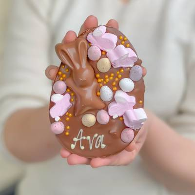 Personalised Rocky Road Loaded Egg