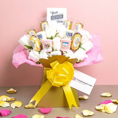 Yankee Candle and Ferrero Rocher Pic Bouquet