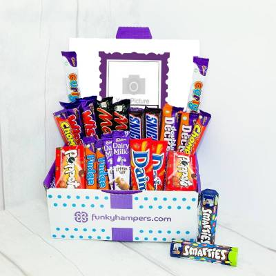 Personalised PicBox Chocolate Hamper