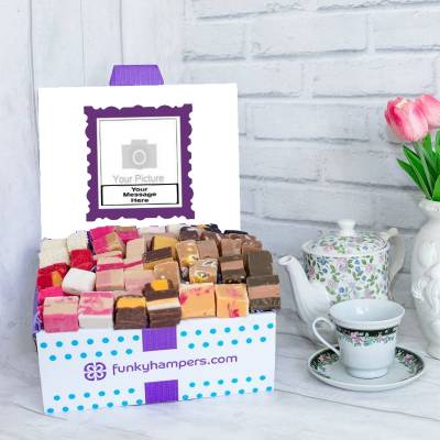 Personalised PicBox Fudge Hamper - Fudge Gifts