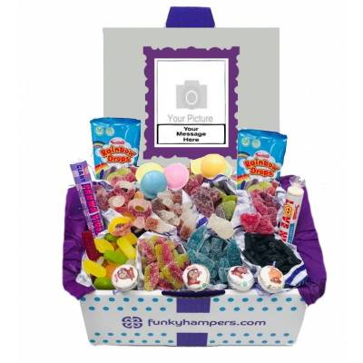 Personalised PicBox Halal Sweet Hamper
