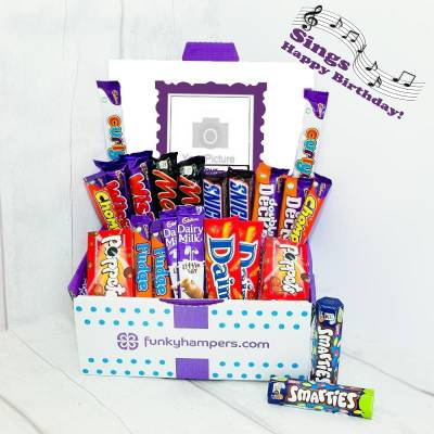 Personalised Musical PicBox Chocolate Hamper