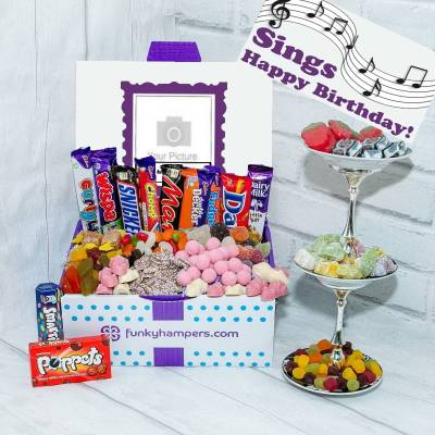 Personalised Musical PicBox Sweet Chocolate Hamper