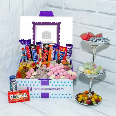 Personalised PicBox Sweet Chocolate Hamper