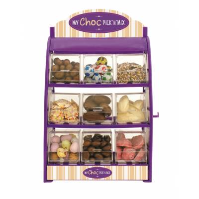 Chocolate Pick n Mix Stand