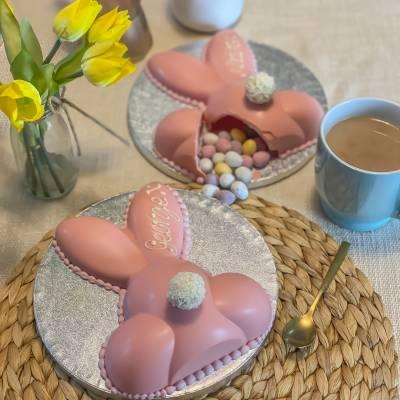 Pink Chocolate Smash Bunny