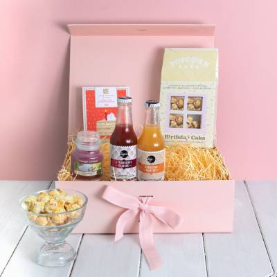 Cocktails and Yankee Candle Birthday Treats Box