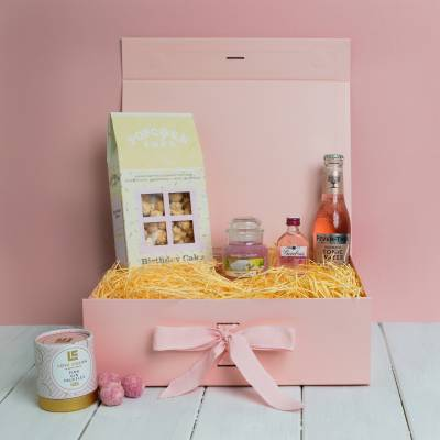 The Pink Gin and Yankee Candle Birthday Treats Box