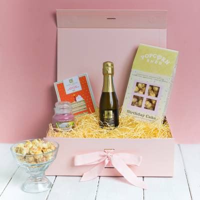Prosecco and Yankee Candle Birthday Treats Box
