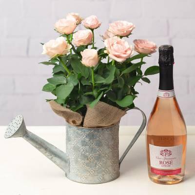 Sparkling Rose Gift Set