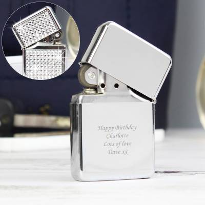 Personalised Diamante Lighter - Lighter Gifts