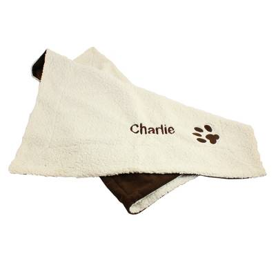 Personalised Luxury Dog Blanket Mat