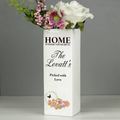 Personalised Shabby Chic Vase