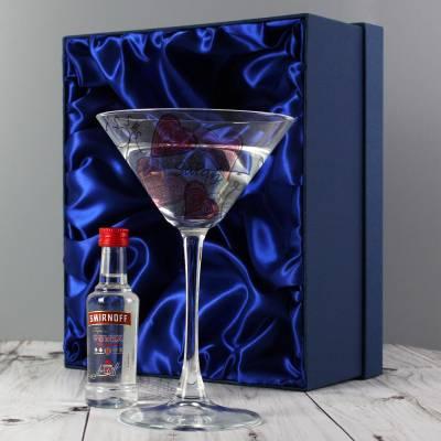 Personalised Love & Kisses Cocktail & Vodka