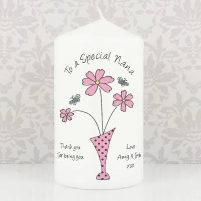 Personalised Mum Candle