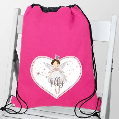 Personalised Fairy Princess Swim & Kit Bag - Fairy Gifts