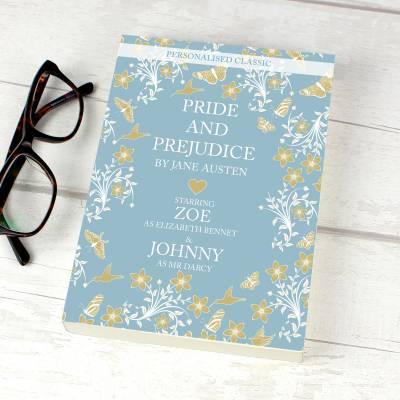 Personalised Pride And Prejudice Novel