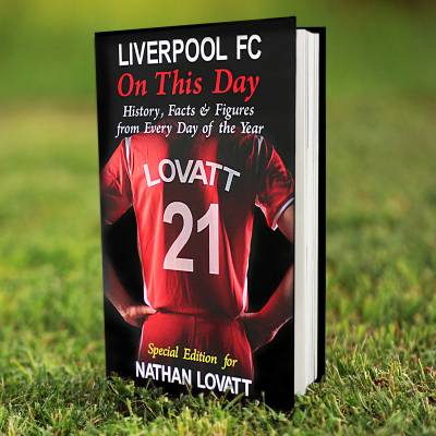 Personalised Liverpool Book - Liverpool Gifts