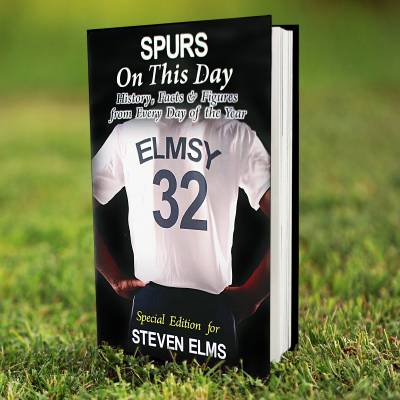 Personalised Spurs Book