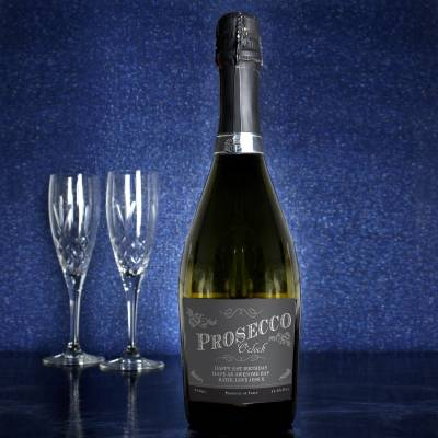 Personalised 'Prosecco O'Clock' Bottle of Prosecco