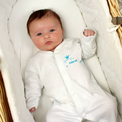 Personalised Little Prince Babygrow