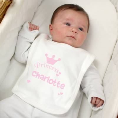 Personalised Princess Bib